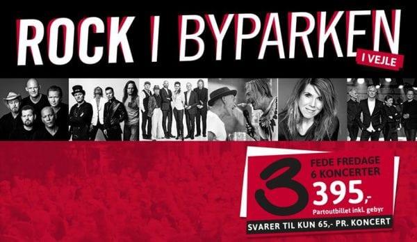 Rock i Byparken - Vejle