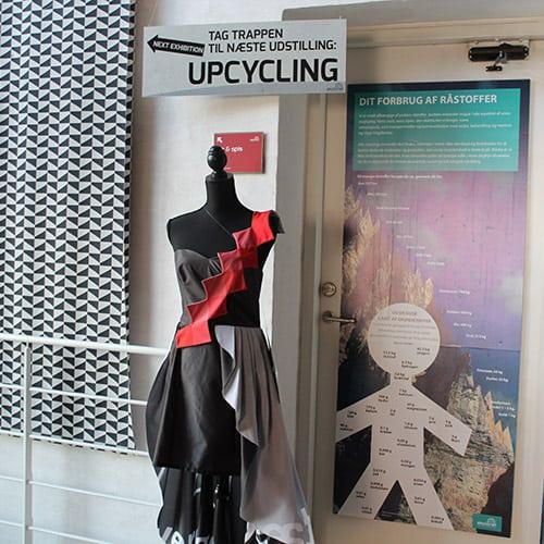 Økolariet udstilling Upcycling Vejle 2017