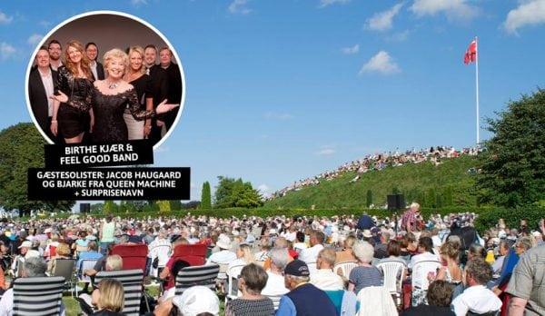 Sommerpicnic med udendørskoncert
