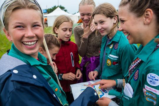 Pigespejderne fejrer 100 år i Danmark med kæmpe spejderfest i Aarhus