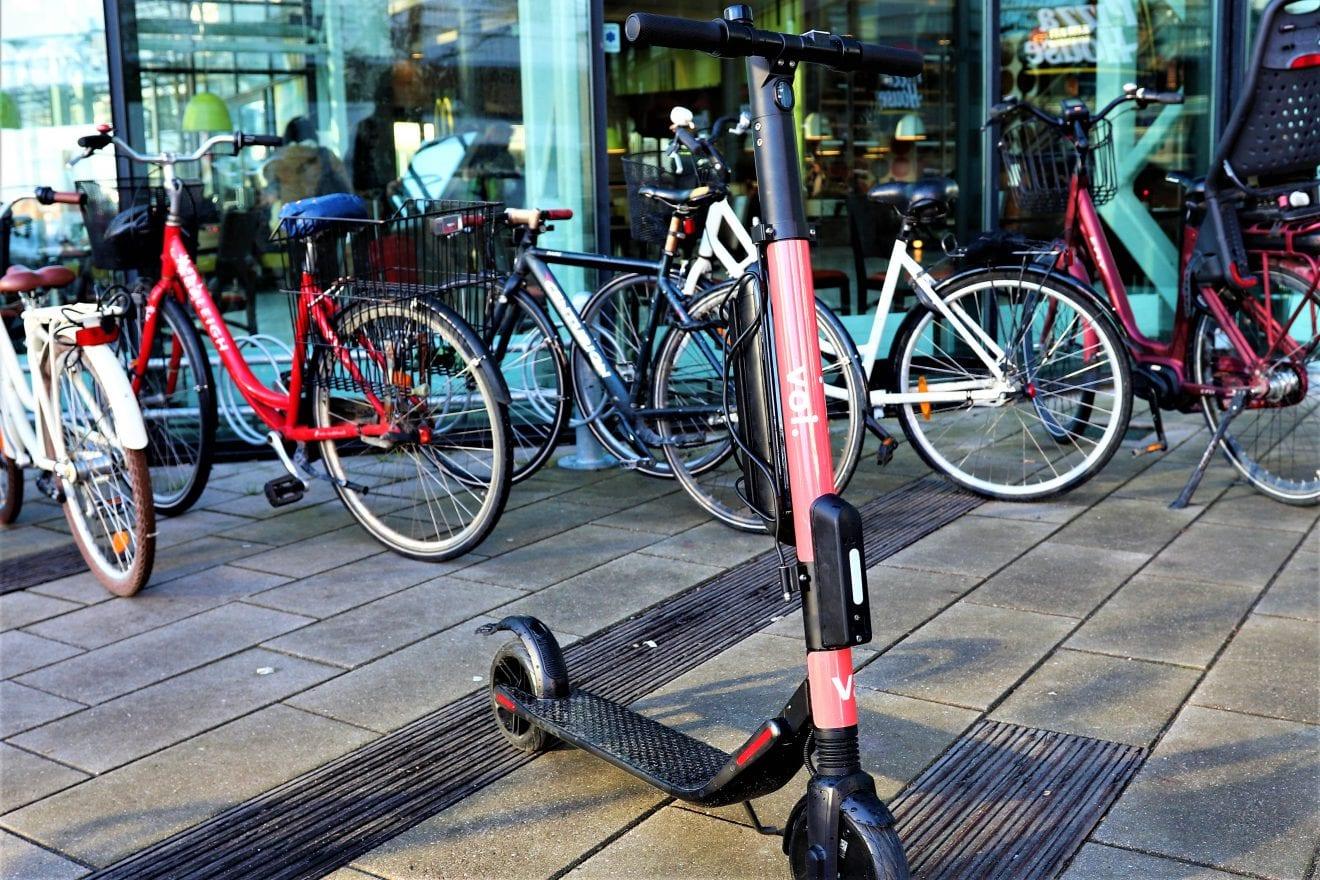 100 el-løbehjul kommer til Vejle