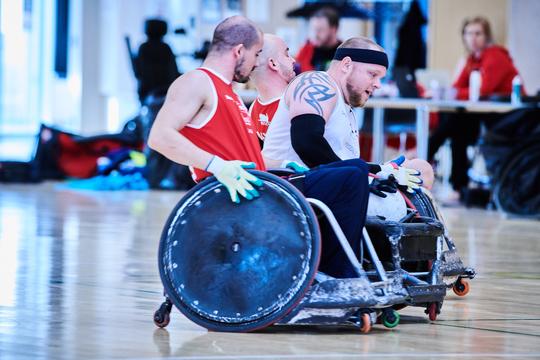 EM-truppen er udtaget: 12 spillere klar til kørestolsrugby i Vejle