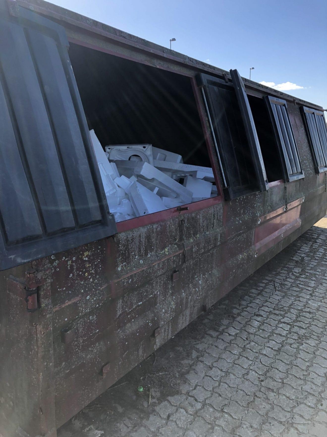 Også julens EPS-emballage skal afleveres til genanvendelse