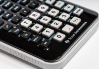 Numerisk tastatur, foto: Justmore
