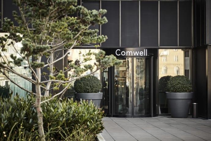 Hos Comwell er det tilladt at holde møder med flere end 10 personer