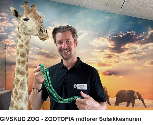GIVSKUD ZOO - ZOOTOPIA indfører Solsikkesnoren // Vælg navn til bjørneungen